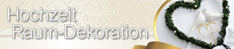 Hochzeit raumdekoration alles f r die hochzeit themen shop for Raumdekoration hochzeit