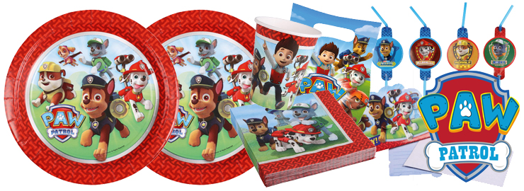 Jungen-Party Paw Patrol