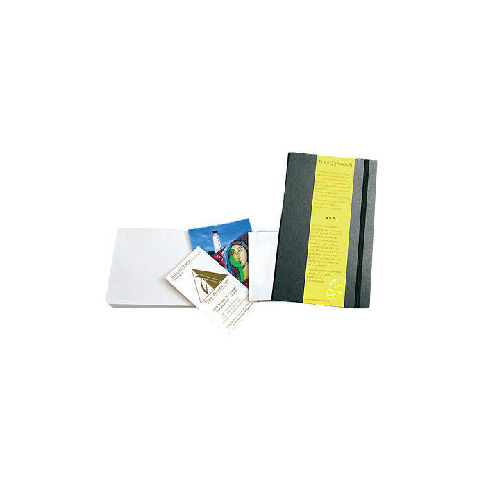 Travel Journal Hochformat, 13,5x21, 62 Bg, schwarz