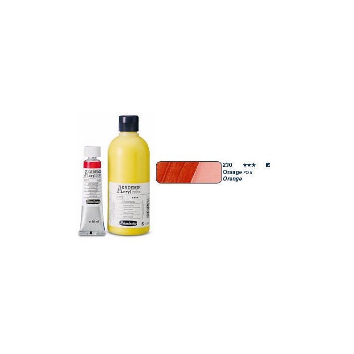 Akademie-Acryl  60ml, Orange