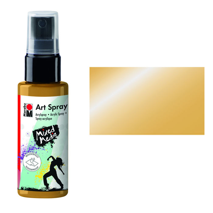Marabu Art Spray, 50 ml, Gold