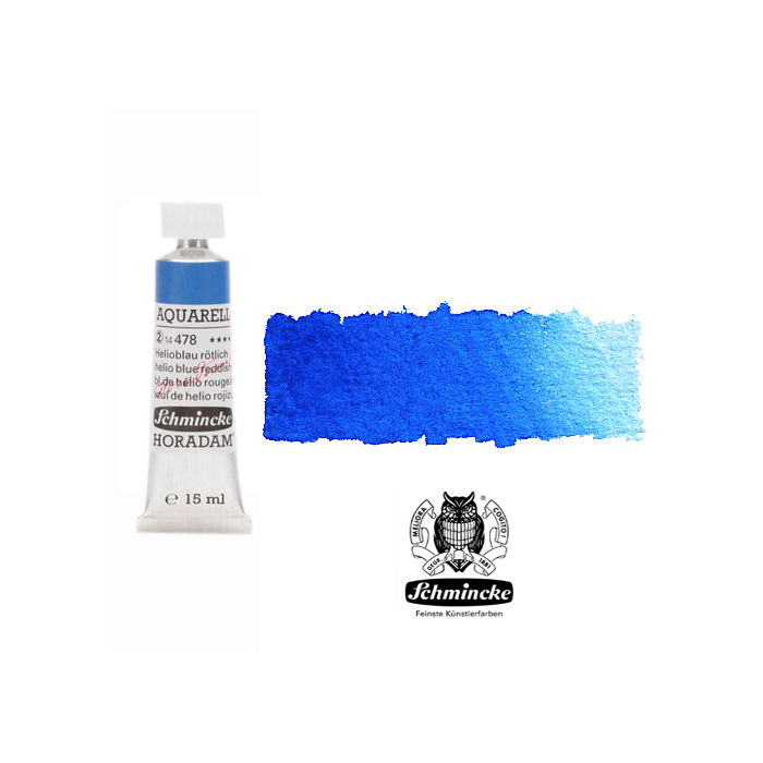 SALE HORADAM AQUARELL Helioblau rötlich Tube 15 ml