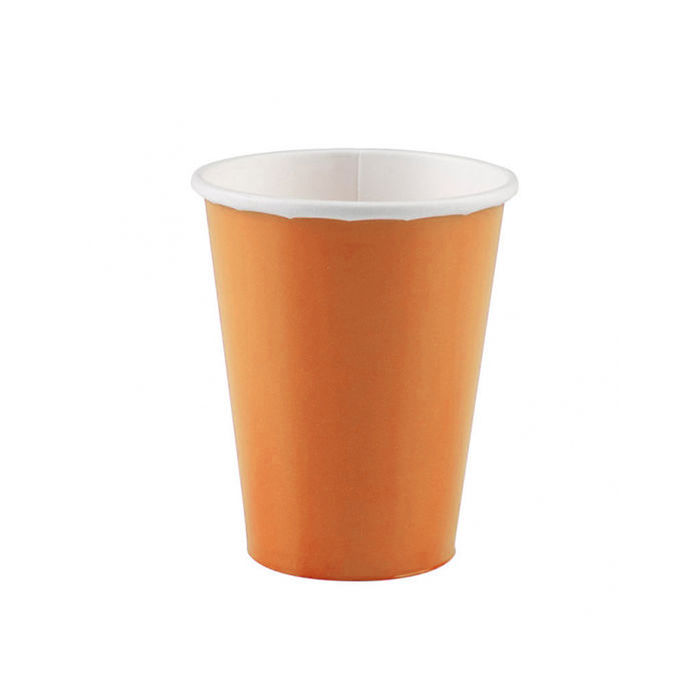 Becher orange, 266 ml, 8 Stk.