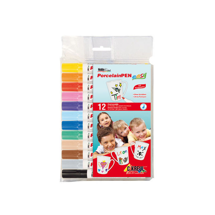 Hobby Line PorcelainPEN easy 12er-Set