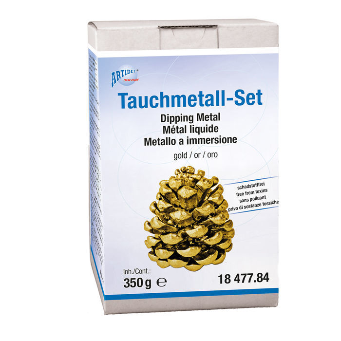 Tauchmetall-Set, 350g, Gold