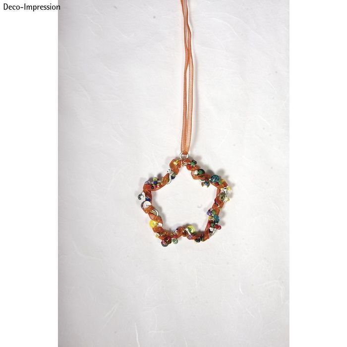 Draht Blume, 5,5cm ø, 4 Stück - Schmuck-Accessoires Schmuck-Design ...