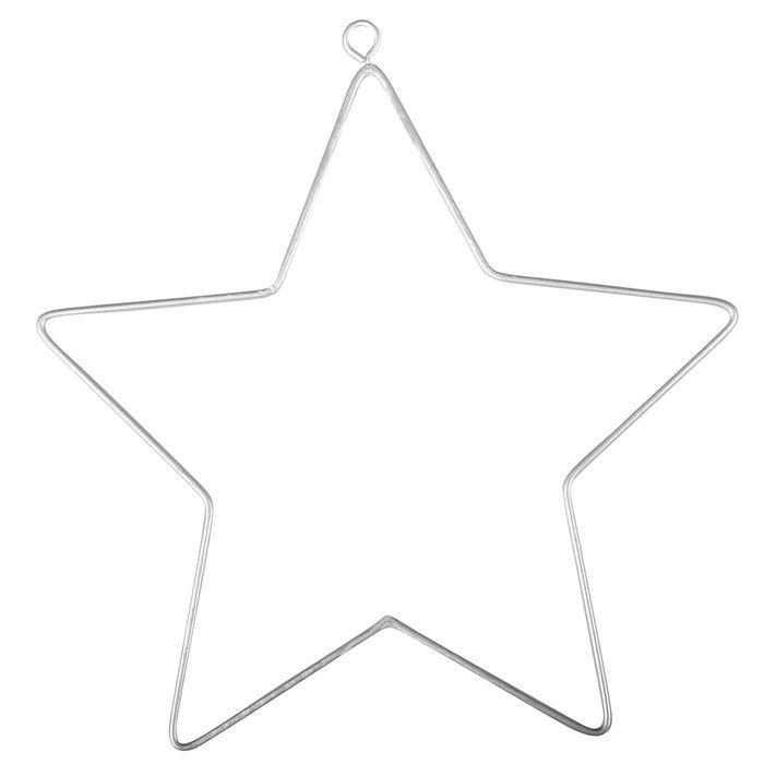 Draht Stern, 11,5x12,5cm, 2 St. - Draht & Drahtformen Bastelmaterial ...