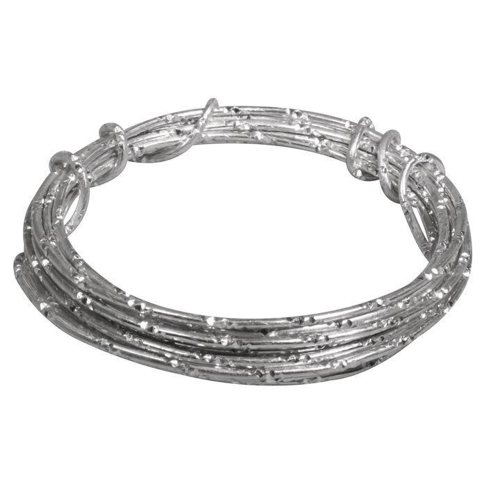 Aludraht extrem formbar, 2mm ø, 2m, silber - Ketten, Draht & Kordeln ...