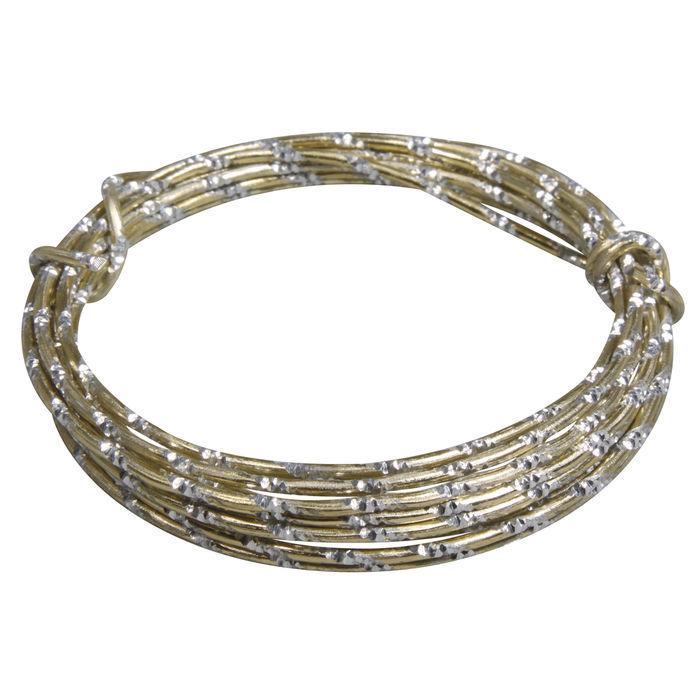 Aludraht extrem formbar, 2mm ø, 2m, gold - Ketten, Draht & Kordeln ...