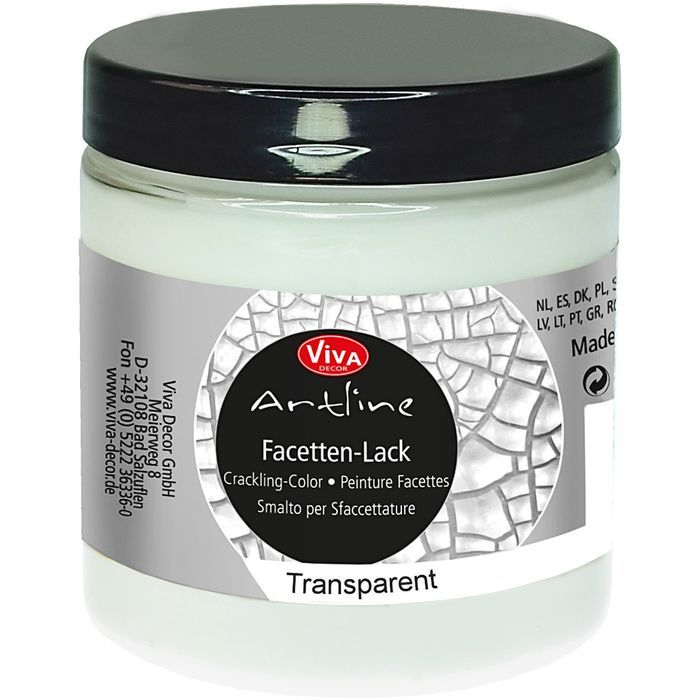 NEU Crackle-Lack, Transparent, 250ml