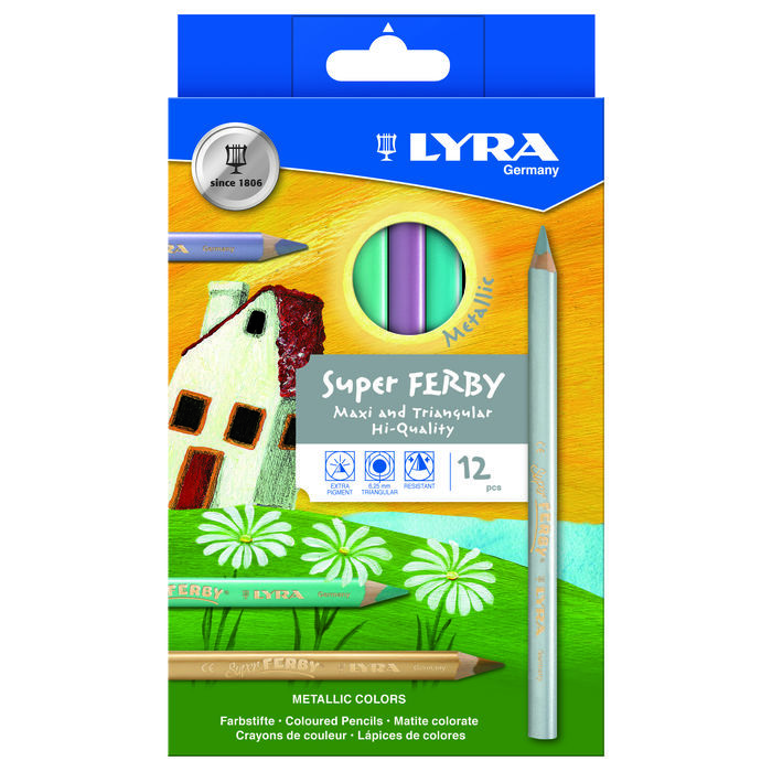 Lyra SUPER FERBY 12er-Set Metallic PREISHIT