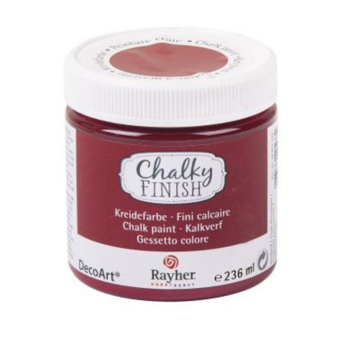 SALE Chalky Finish, Dose 236ml, burgund