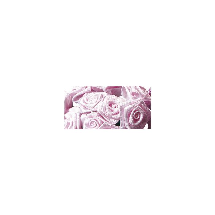 Satinr schen 12mm bund 12st ros bastel for Dekorationsartikel hochzeit