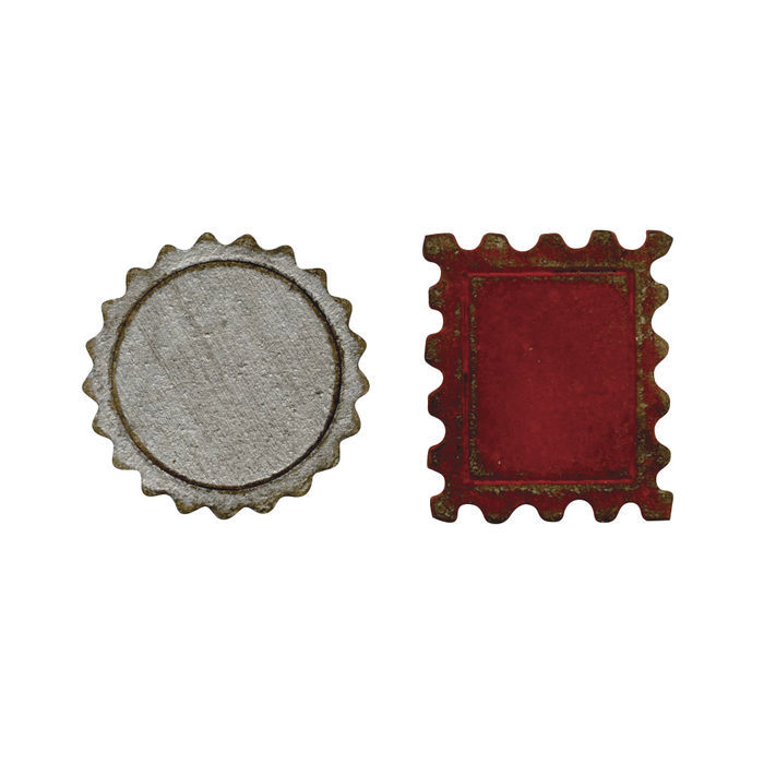 Sizzix Movers&Shapers Schabl. Bottle Cap&Stamp