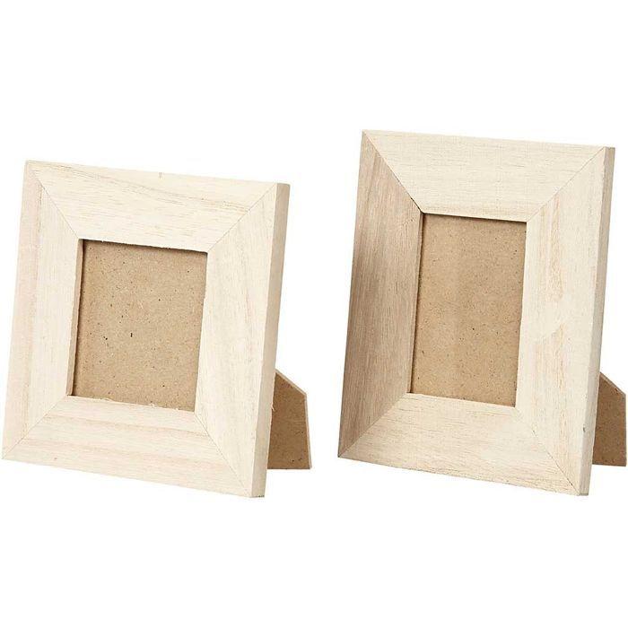 Rahmen 10x10+9x11 cm, 5x5+3,8x5,6 cm 80 sort. - Sets Gestalten mit ...