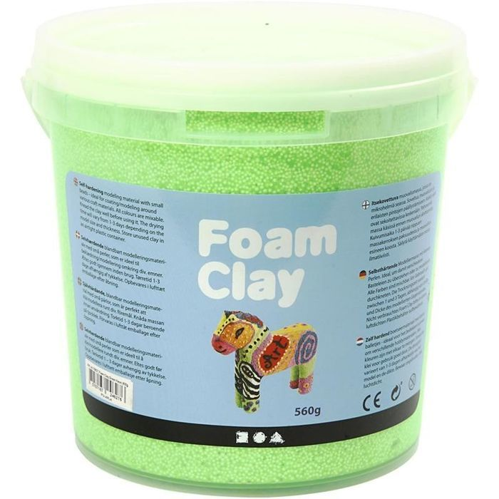 Foam Clay®, 560 g, neongrün
