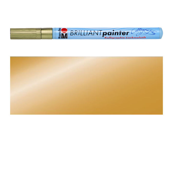 Marabu Brilliant Painter Kalligrafie, Gold