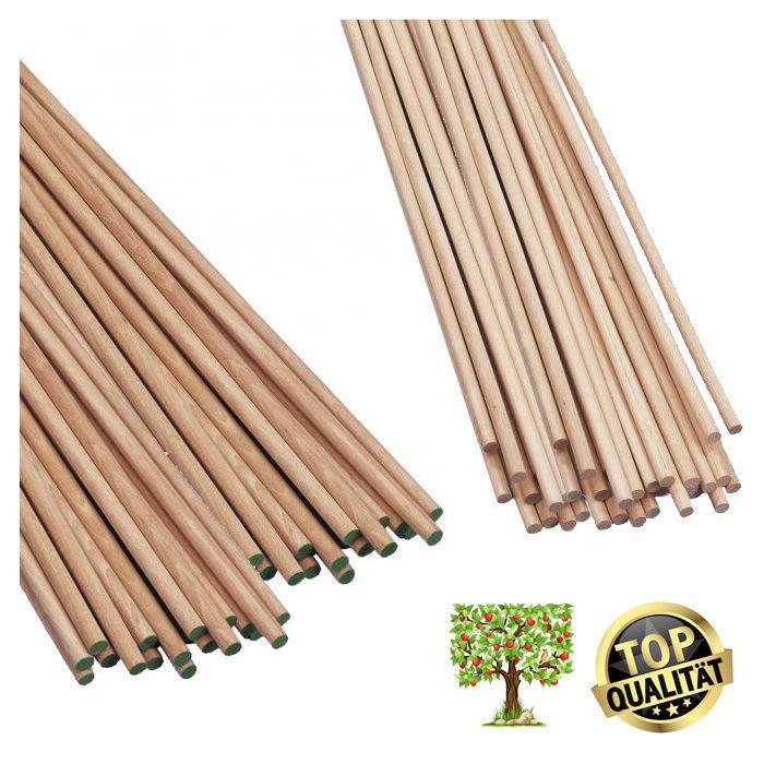Buchen Rundstab 10 Stk Länge 50 Cm Stärke 6mm Holzringe