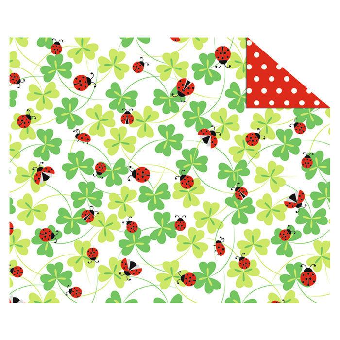 rot NEU Motiv-Transparentpapier Country Christmas
