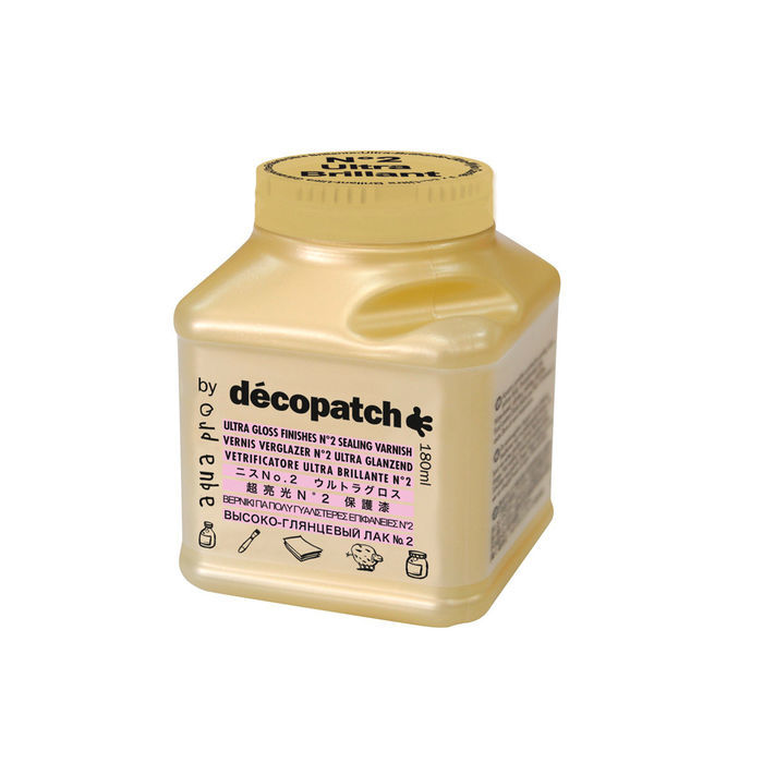 Décopatch Aquapro-Lack, brillant, 180ml