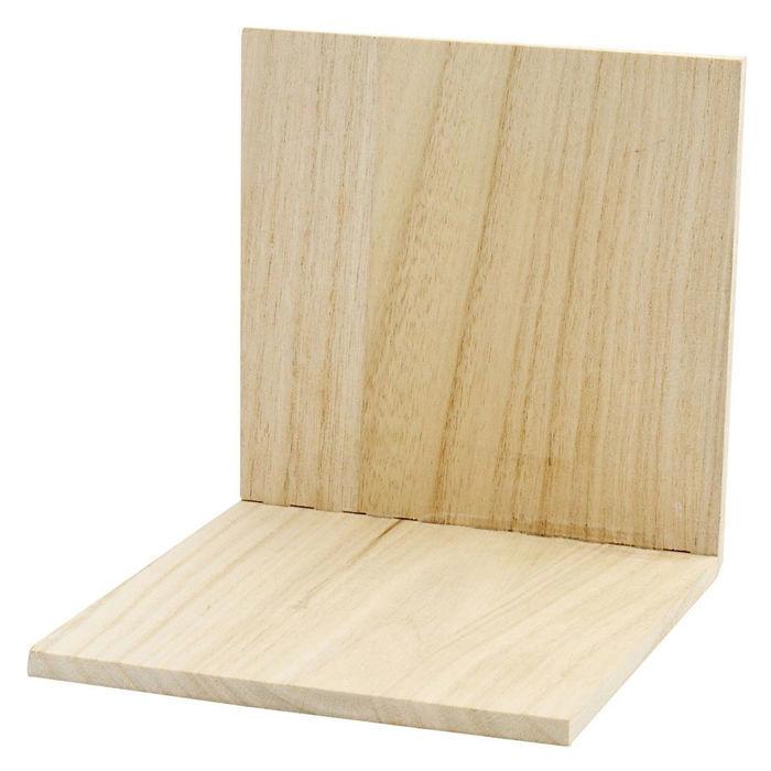 buchst tze aus holz 15x15x15cm artikel aus holz mdf zubeh r f r serviettentechnik. Black Bedroom Furniture Sets. Home Design Ideas