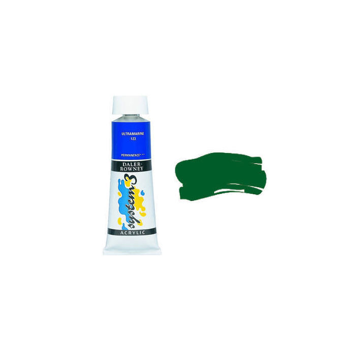 SALE System 3 Acrylfarben 75ml Oxide Chrom. Green