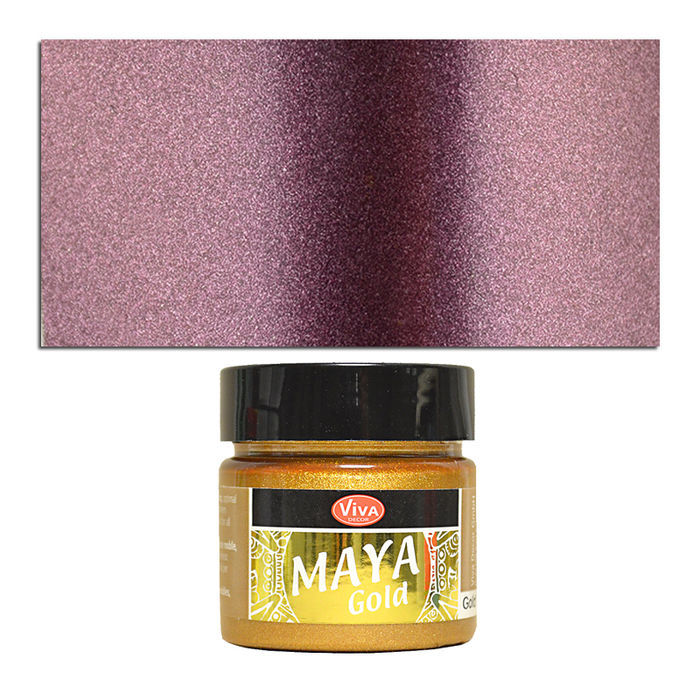 Viva Decor Maya Gold 45 ml, Aubergine