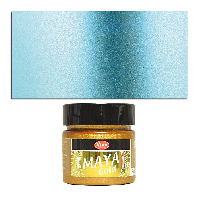 Viva Decor Maya Gold 45 ml, Eisblau