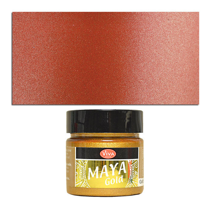 Viva Decor Maya Gold 45 ml, Kupfer