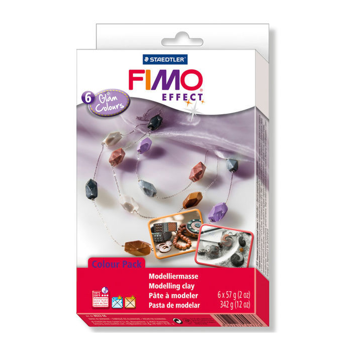 Fimo Soft Material Pack Glam Colors