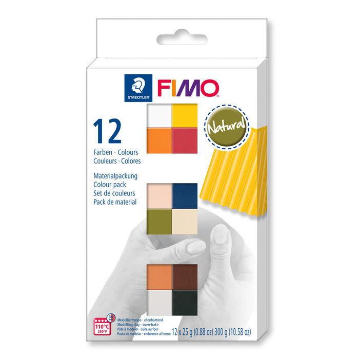 1.000 g Ton Knete Bastelmasse Soft Polymere weiß Fimo air Basic Modelliermasse