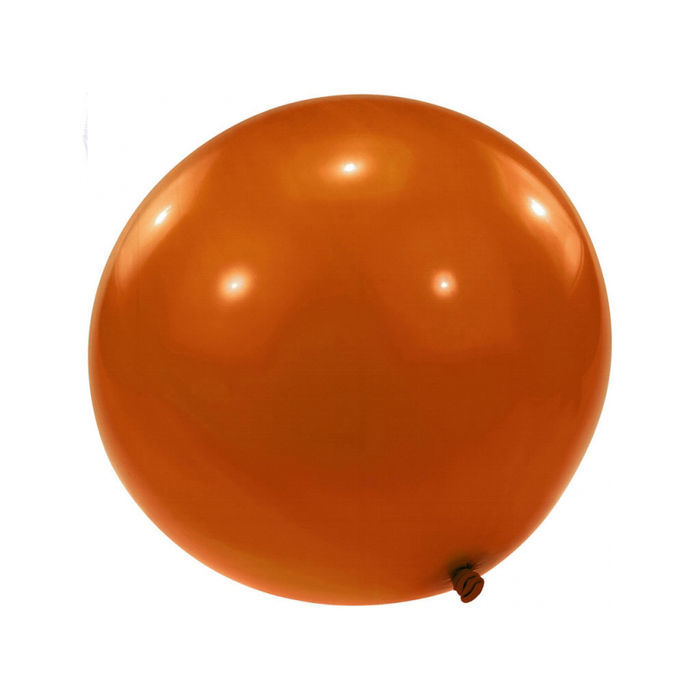 Riesen-Ballon, 350cm Umfang, orange