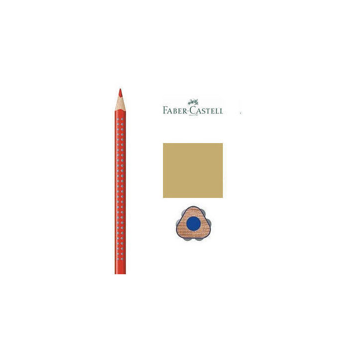Faber-Castell ´Colour GRIP` Buntstift, gold