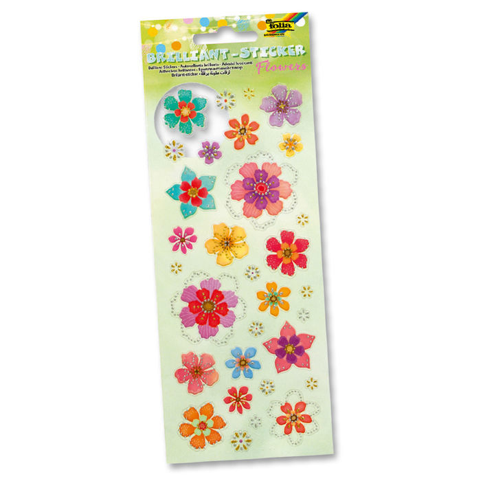 Brilliant Sticker FLOWERS