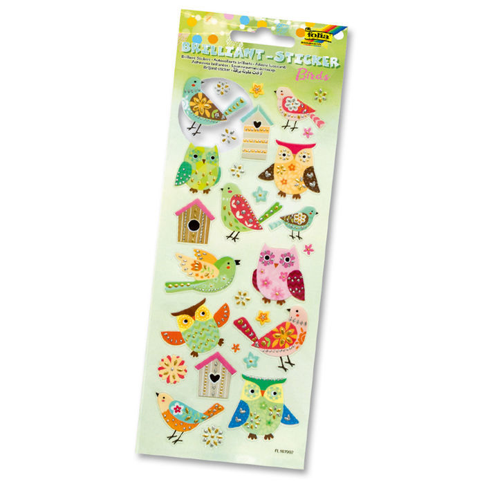SALE Brilliant Sticker BIRDS