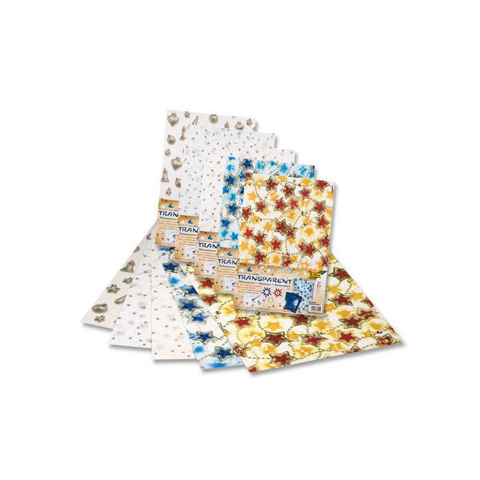 transparentpapier set weihnachten i 23x33cm karten. Black Bedroom Furniture Sets. Home Design Ideas