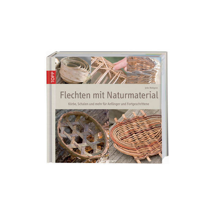 buch flechten mit naturmaterial von topp - peddigrohr preishit,