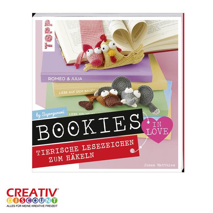 Neu Buch Bookies In Love Lesezeichen Zum Häkeln Bücher Feste
