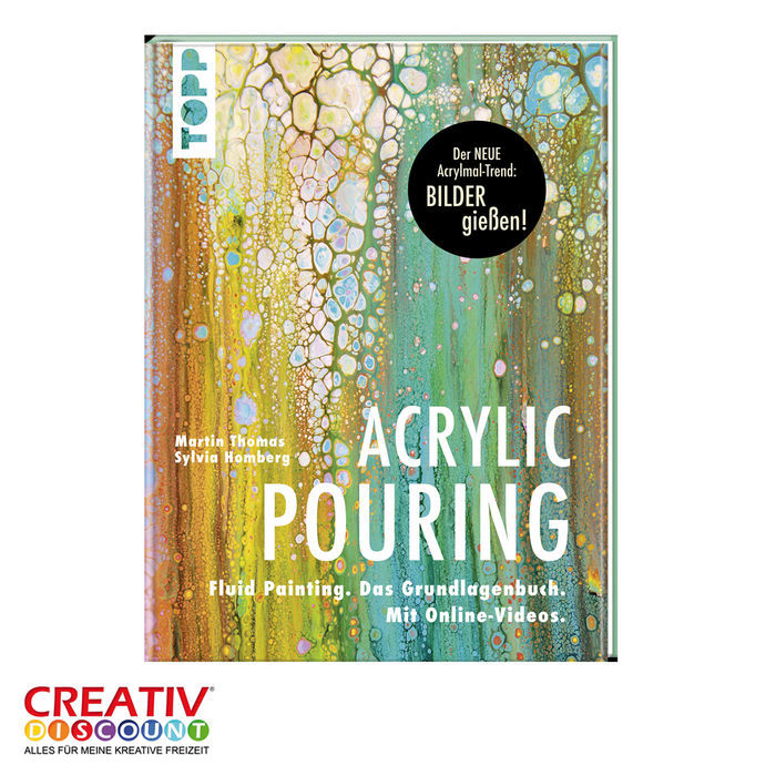 Buch Acrylic Pouring der neue Acrylmal-Trend