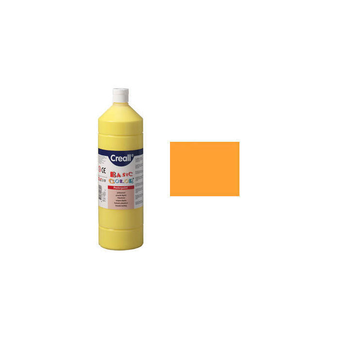 Schulmalfarbe 1000 ml, orange PREISHIT