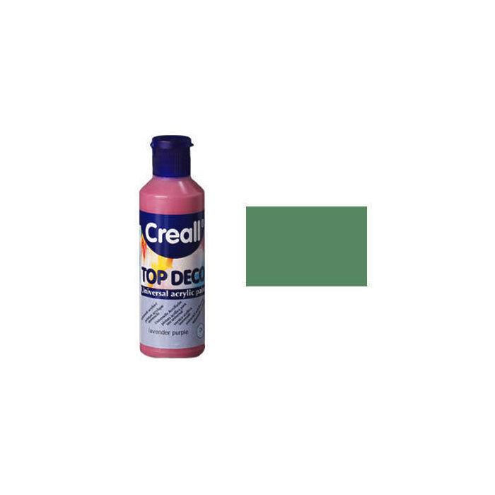 SALE Creall Hobby-Acrylfarbe 80ml Antikgrün