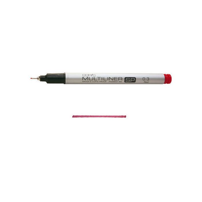 SALE COPIC Multiliner SP, 0,3mm, Wine