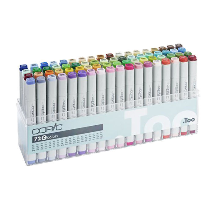 COPIC Classic Marker 72er Set  C