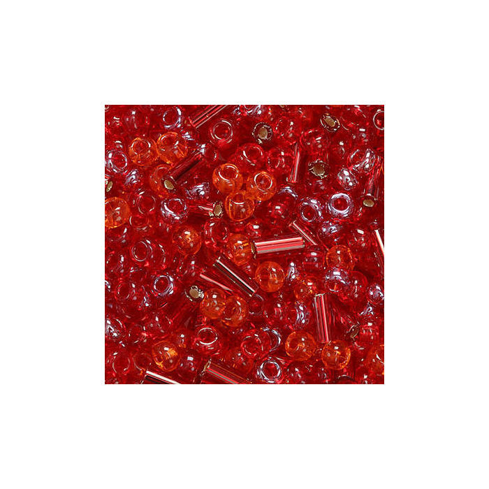Rocailles-Sortiment, 20g, 2,5mm, Rot