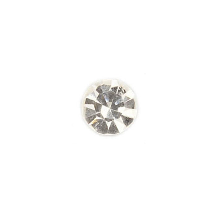 Strass Steine Flach 45mm 15 St Kristallfarben