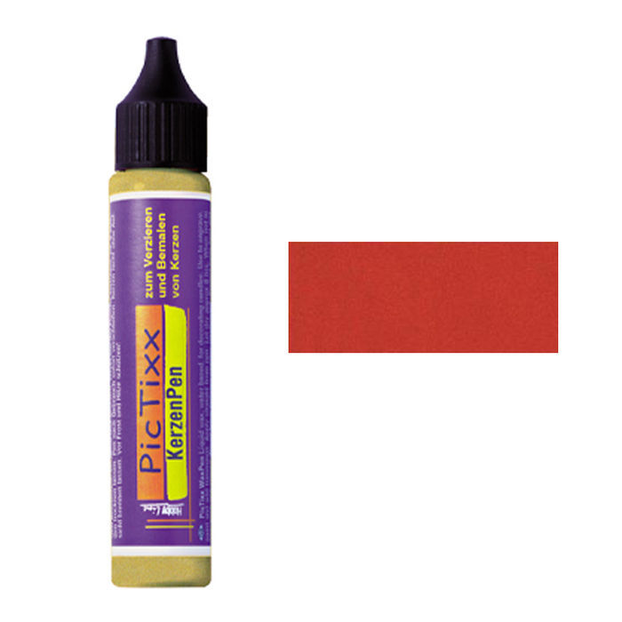 PicTixx MetallicPen, 29ml, Rot