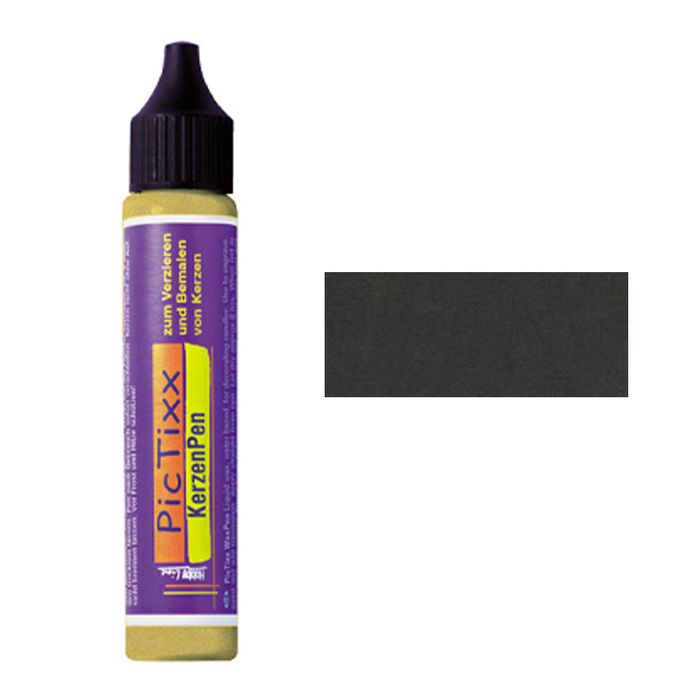 PicTixx MetallicPen, 29ml, Anthrazit