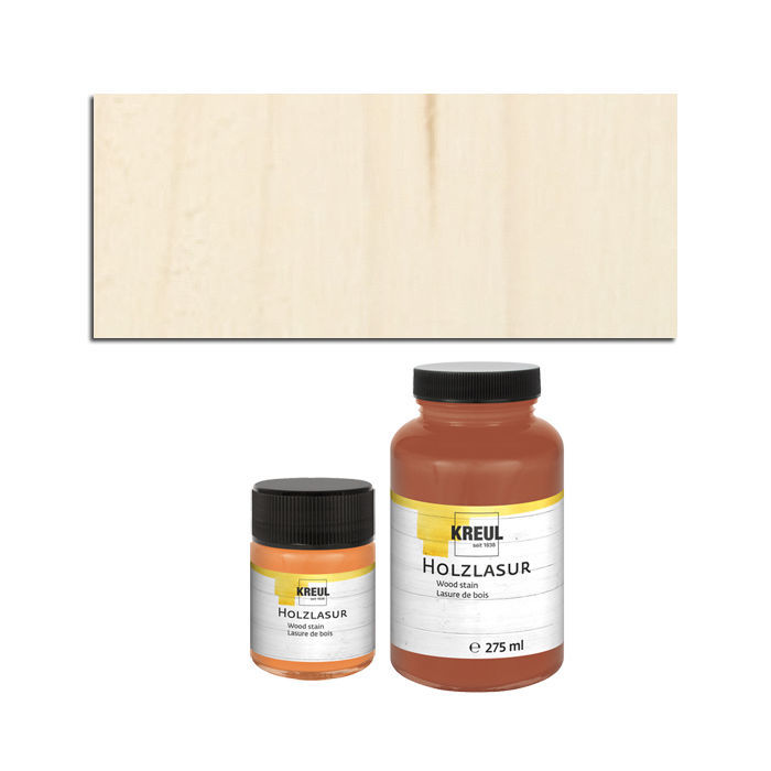 Hobby Line Holz-Lasurfarbe 275ml Weiss