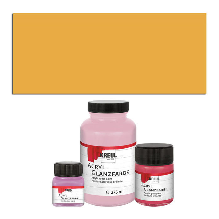 Hobby Line Acryl-Glanzlack, 20ml, Gold