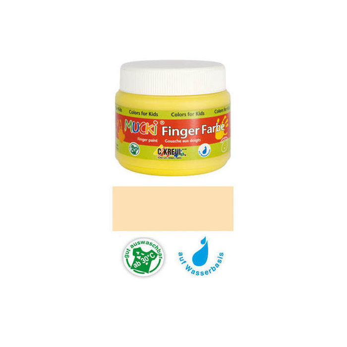 MUCKI Fingerfarbe Hautfarbe 150 ml